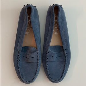 Tod's Gommino Suede Loafers (38)